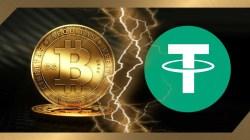 Ballenas crypto dedican su día casi exclusivamente a mover USDT y Bitcoin