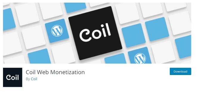 Coin Web Monetization, el plugin para recibir Ripple por nuestro contenido, está disponible en WordPress.