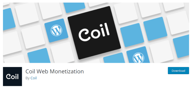 Coin Web Monetization, the plugin for receiving ripple for our content, is available on WordPress.