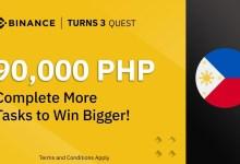 Binance continúa ofreciendo premios: Cumple y gana BNB