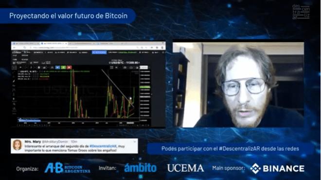 Nicolas Litvinoff explica hacia dónde se dirige el precio de Bitcoin