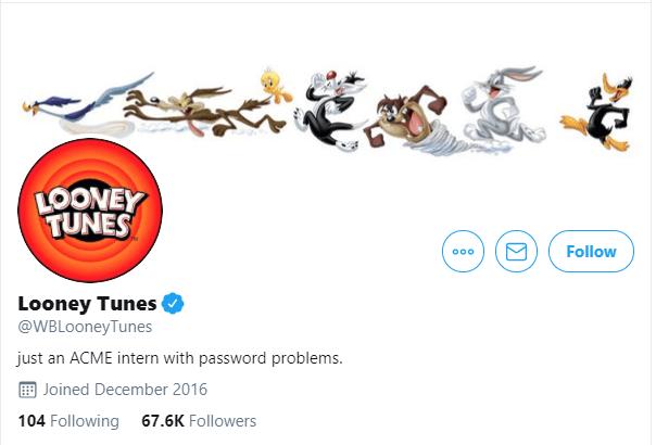 Los Looney Tunes atacan a Bitcoin como parte de su estrategia de marketing online