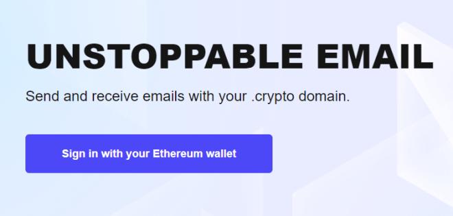Ahora puedes enviar correos electrónicos con tu dirección de Ethereum gracias a Unstoppable Domains.