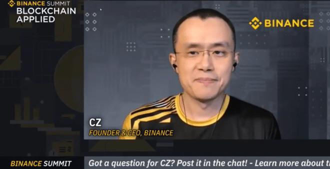 Changpeng Zhao anunció que Binance donará 100.000 dólares a Gitcoin.