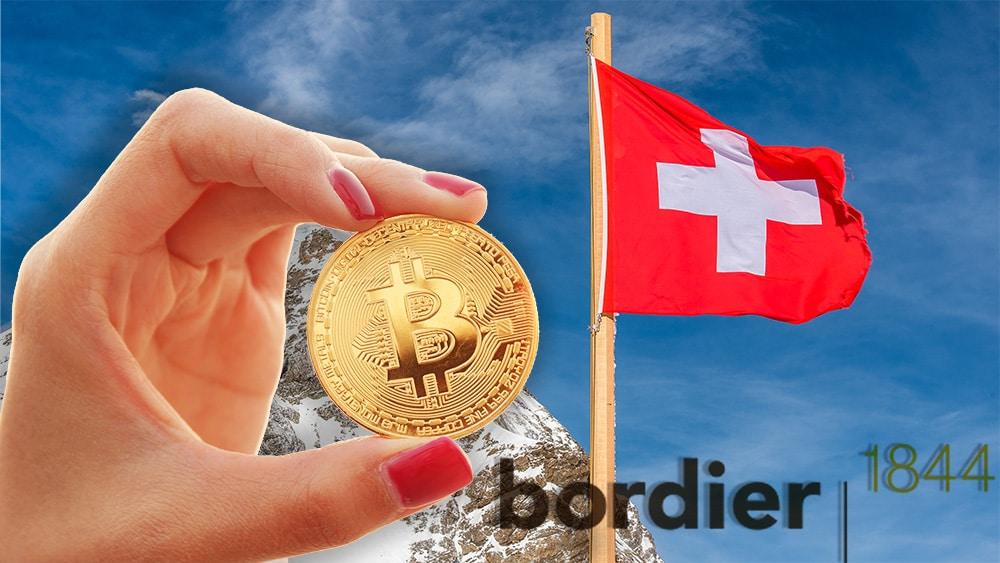 Banco suizo ofrecerá servicios de criptomonedas