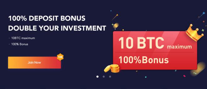 Bexplus ofrece una cripto bonificación por depósito