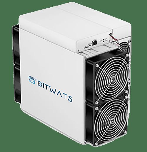 El DBT es el equipo intermedio. En cuanto a Bitcoin, mina con un poder de 750 TH/s.
