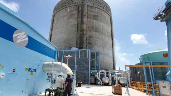 En plantas de energía nuclear como esta, confía el alcalde de Miami para dar alojo a los mineros chinos de Bitcoin.