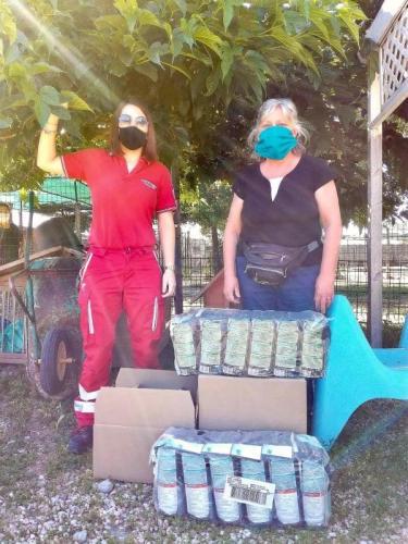 2020 - 21.06.2020 Donazione cibo per animale all'ASPA di Anguillara S.