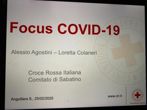 2020 - 25.02.20 Formazione interna Covid 19 Anguillara S.