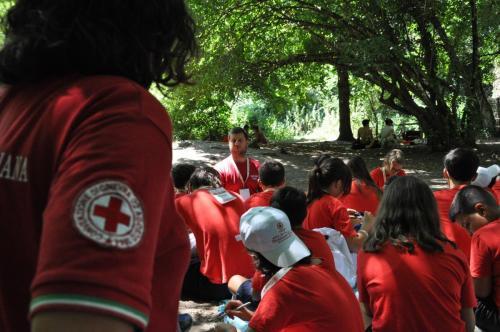 2019 - 25.07.2019 Quarto giorno campo Anch'io sono la protezione civile Anguillara