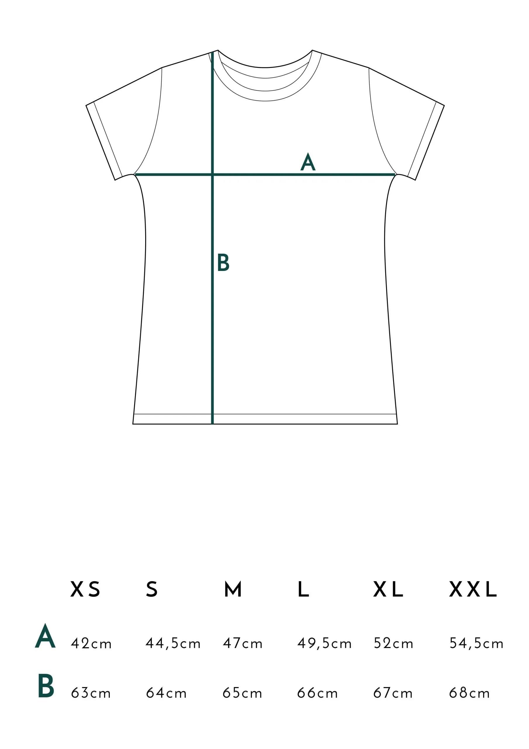 Medidas Camisetas Juntas es mejor Verde