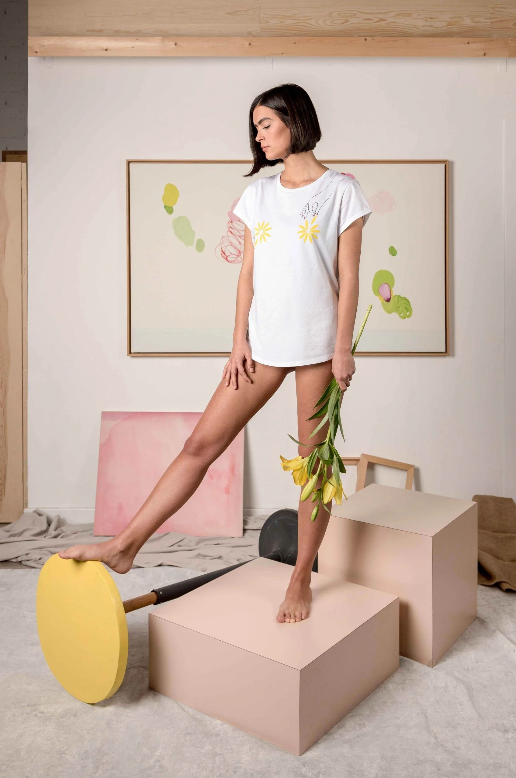 Camiseta-Blanca-Algodón-Orgánico-Flores-Crisálida13