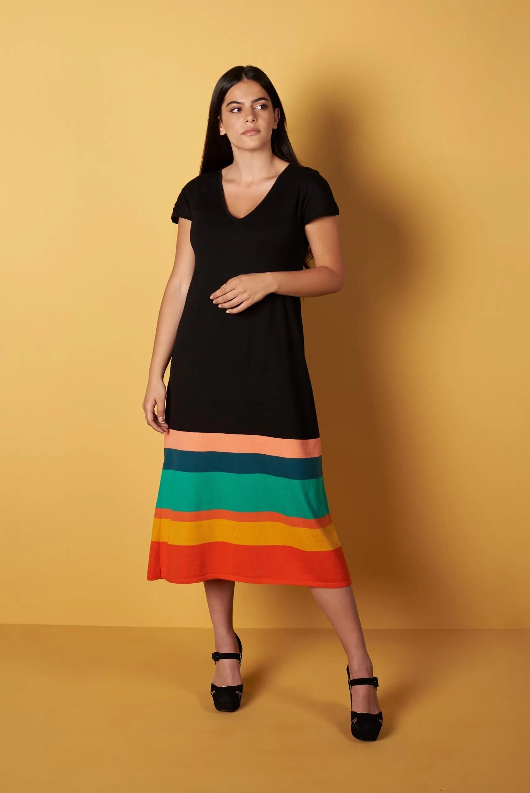 Vestido Malevich Algodón Egipcio1