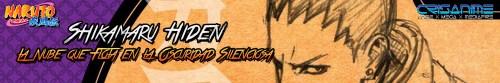 Naruto Shippuden Shikamaru Hiden