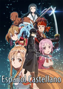 Sword-Art-Online-Español-Castellano-MEGA-Mediafire-Poster