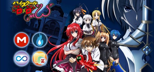 High School DxD New MEGA MediaFire Openload Zippyshare Portada