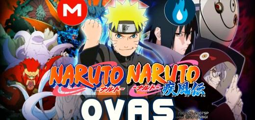 Naruto y Naruto Shippuden OVAS Portada
