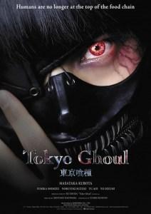 Tokyo Ghoul Live Action Movie MEGA MediaFire Openload Poster