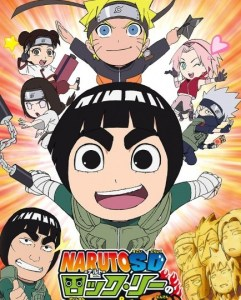 NarutoSD Rock Lee no Seishun Full-Power Ninden MEGA Openload Zippyshare Poster