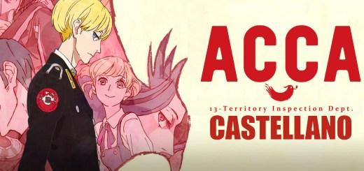 ACCA 13-ku Kansatsu-ka Castellano Portada