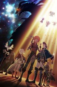 Shingeki no Bahamut Genesis Anime Poster