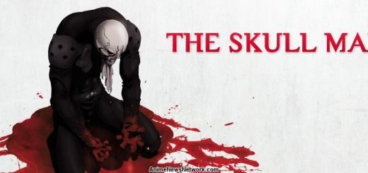 The Skull Man Anime Portada