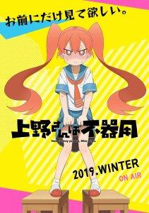 Ueno-san wa Bukiyou Anime Poster