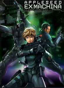 Appleseed Ex Machina Movie Poster