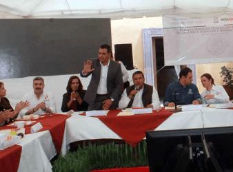 Sesión de COVAM en Nochistlán