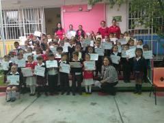 Taller de computación para Preescolar Rafael Cervantes