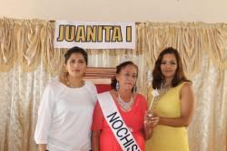 Coronación de Juanita I en los festejos de los abuelos