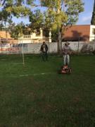 Mantenimiento al Campo Guadalupano
