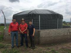 Deposito de Agua Comunitario en La Estancia