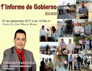 Invitación a Informe de Gobierno
