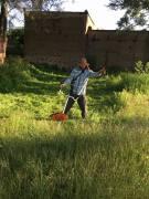 Mantenimiento de áreas verdes en el Municipio