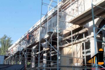 Trabajos de restauración de El Parían