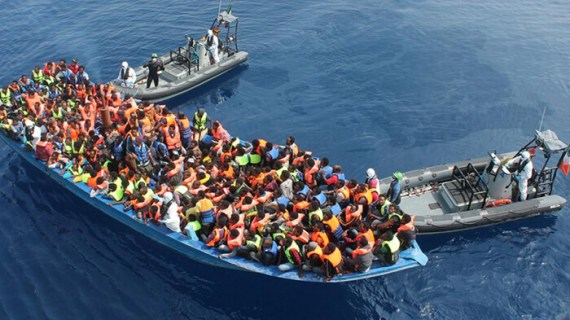 Frontex: 50% λιγότεροι πρόσφυγες τον Ιανουάριο