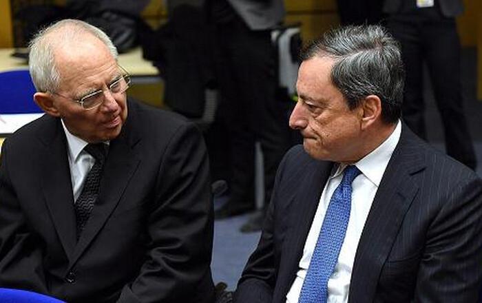 Ο Ντράγκι ανάβει φωτιές στον Σόιμπλε για Ελλάδα