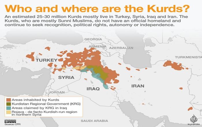 """""""Καίει"""" το κουρδικό: Στις 25 Σεπτεμβρίου το αμφιλεγόμενο Δημοψήφισμα"""