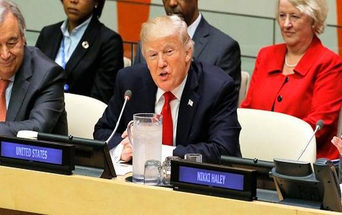 Εμπρηστικός ο Τραμπ στον ΟΗΕ ψάχνει και φτιάχνει εχθρούς