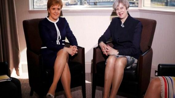 Το Brexit χαρτί στο πόκερ Μέι-Στέρτζεον για ανεξαρτησία της Σκωτίας
