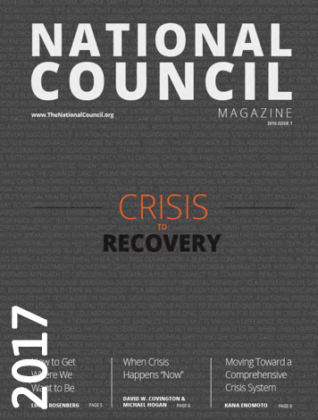 2017 Crisis to Recovery