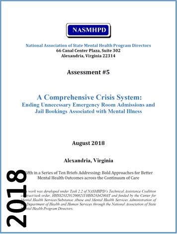 2018 A Comprehensive Crisis System