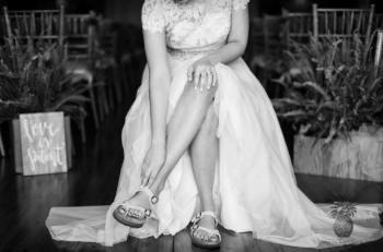 Elige unos zapatos cómodos para tu boda