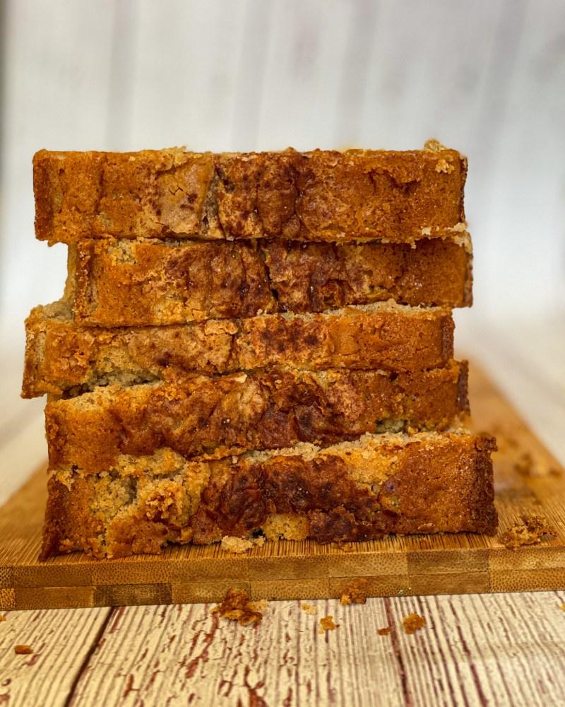 Cinnamon Pear Loaf Cake