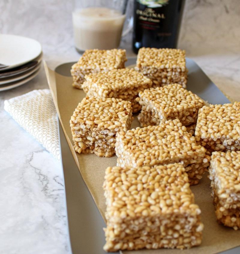 Baileys Rice Krispy Treats