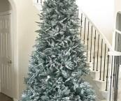 How To Flock A Christmas Tree Martha Stewart
