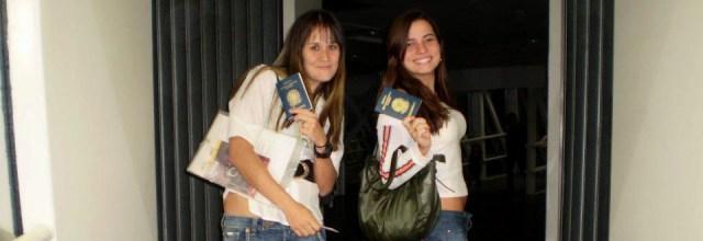 Indo para o Uruguai