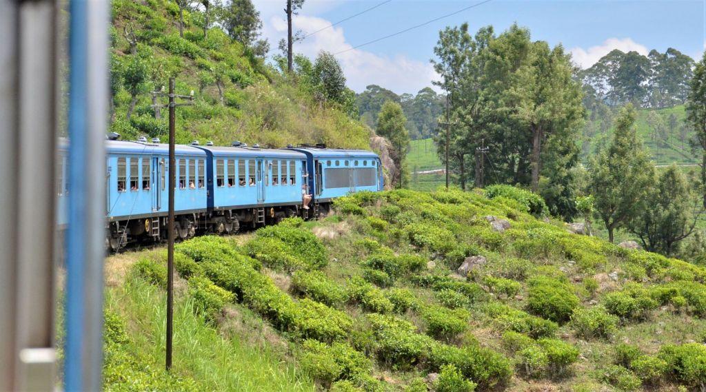 Ella to Nuwara Eliya by train